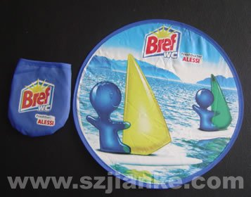 Promotion Foldable Nylon Frisbee with Custom Design (3488)